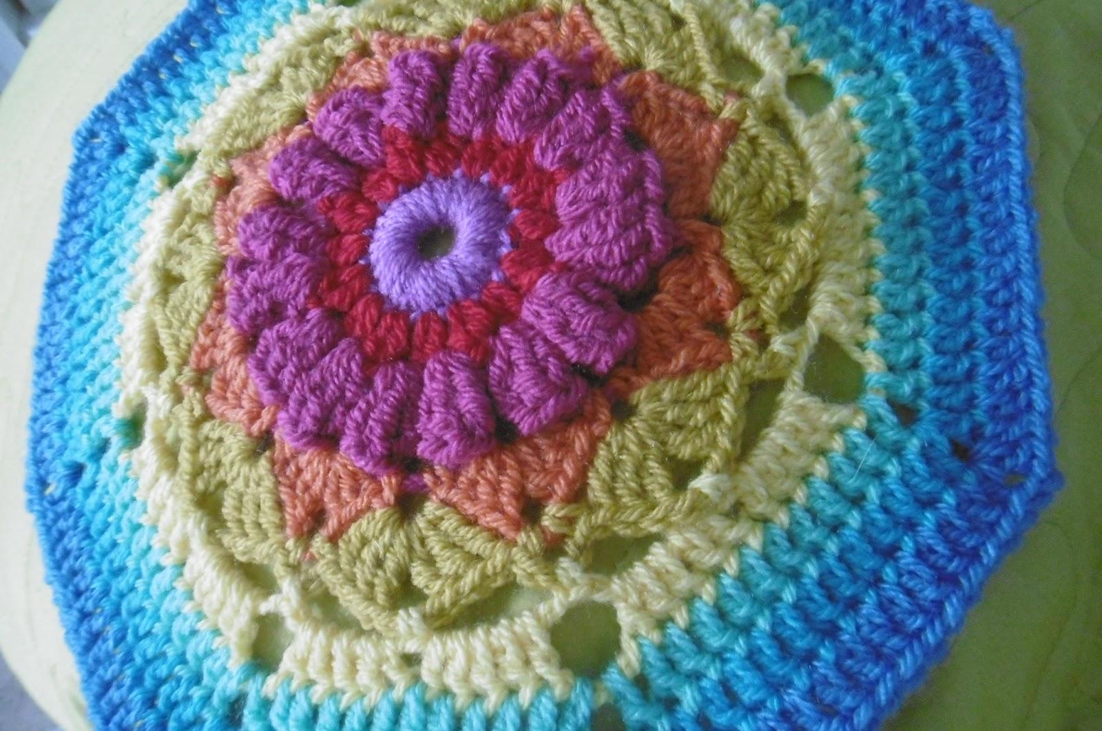 Susan Pinner Secret Garden Blanket Workshop