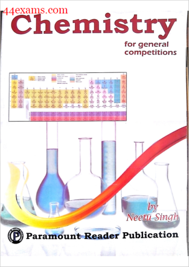 Paramount Chemistry : For All Competitive Exam PDF Book