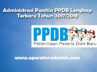 SK PPDB 2017 untuk SD, SMP, SMA