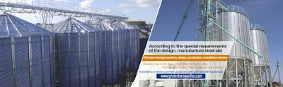 Grain storage silos, flat bottom silos, hopper bottom silos, feed silos, powder silos