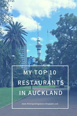 My Top 10 Restaurants in Auckland