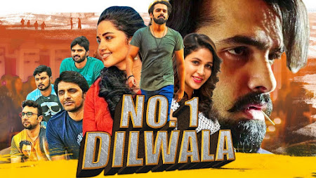 Poster Of Free Download No. 1 Dilwala 2019 300MB Full Movie Hindi Dubbed 720P Bluray HD HEVC Small Size Pc Movie Only At worldfree4u.com