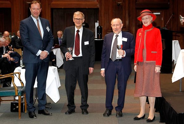 Queen Margrethe attended The Royal Danish Society of Agriculture's 250th anniversary