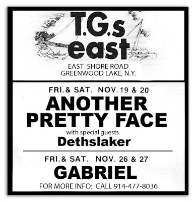 T.G.'s East band line up