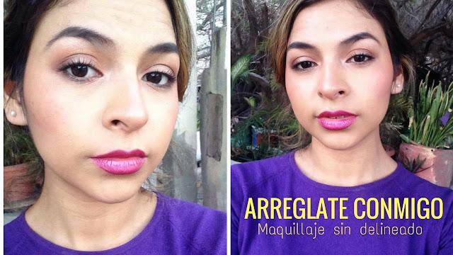 Maquillaje sin delineado