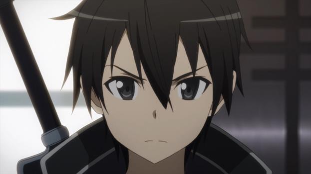 Kirigaya Kazuto atau bisa dipanggil akrab dengan nama Kirito ini juga masuk dalam masuk karakter anime pengguna pedang terkuat