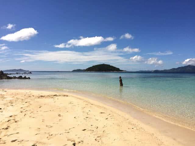 Malcapuya Island Beach