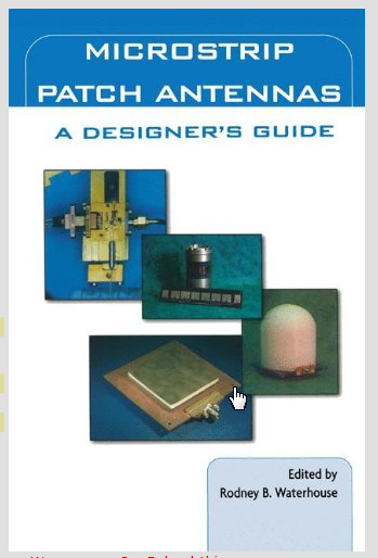 Microstrip Patch Antenna Design Book