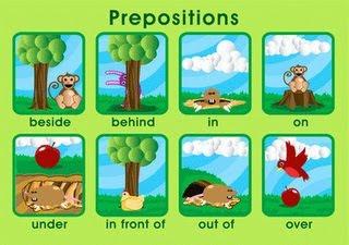 Ciao Bambini Ciao Maestra Young Learners Prepositions Giochi E