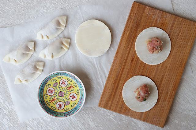 Συνταγή για Dumplings με χοιρινό με άρωμα ασίας