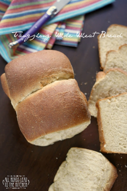 Tangzhong Whole Wheat Bread | #BreadBakingBabes