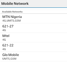 mtn 4G LTE on my phone