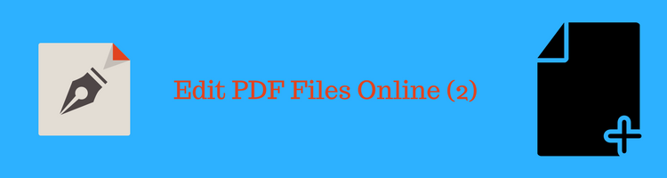 how to edit a pdf document online free