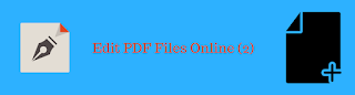 how to Edit PDF Files Online