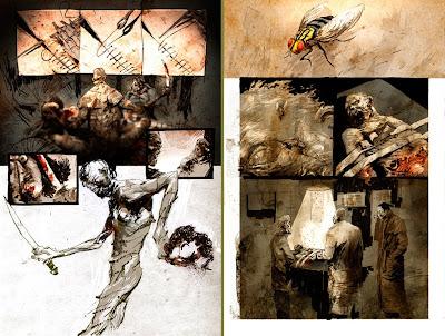 Deadworld Restoration: due tavole