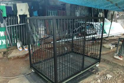 Kandang Anjing Besi Menerima Pesanan Seluruh Jabodetabek