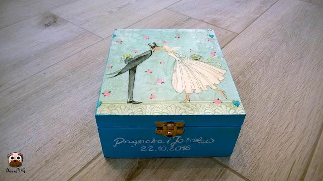 #90 Ślubne pudełeczko