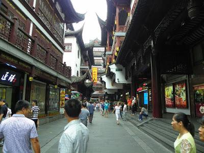 calles mercado yuyuan shanghai