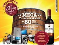 Promoção  80 Anos Vinhos Dom Bosco promocaodombosco.com.br