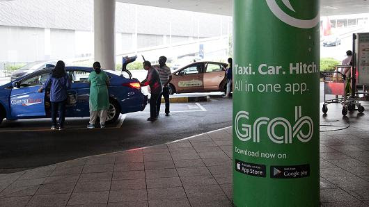 Citigroup aims for tie-up with Singapore ride-hailing app Grab