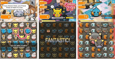 pokemon shuffle mobile apk mod