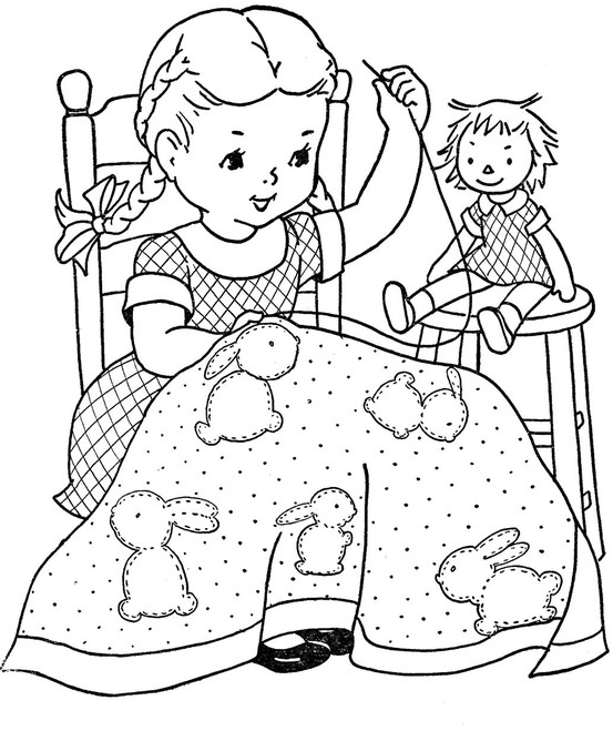 coloring pages for quilts - photo#29