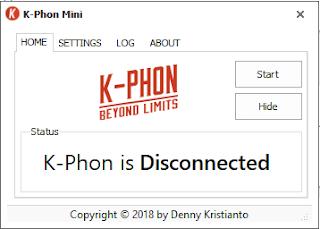 Download K-Phon Mini, Aplikasi PC Mirip Psiphon Terbaru 2018