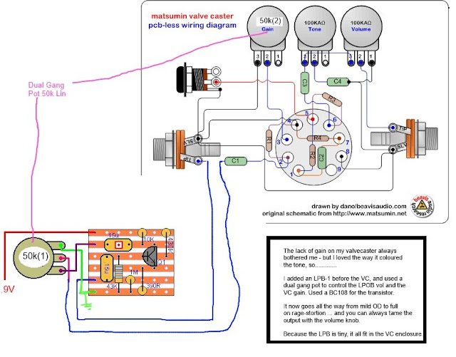 dallas rangemaster pedal wiring diagram