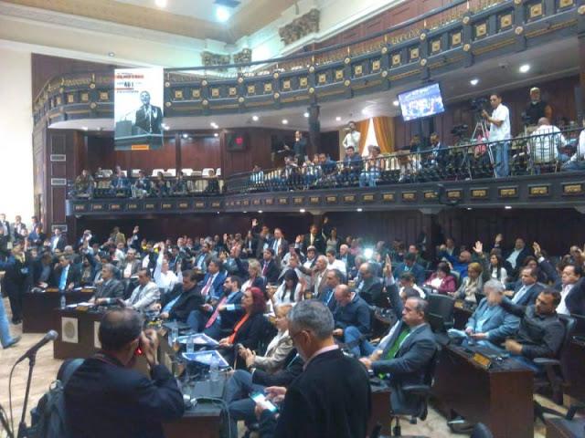 AN aprueba enjuiciamiento contra el presidente Nicolás Maduro con 105 votos a favor