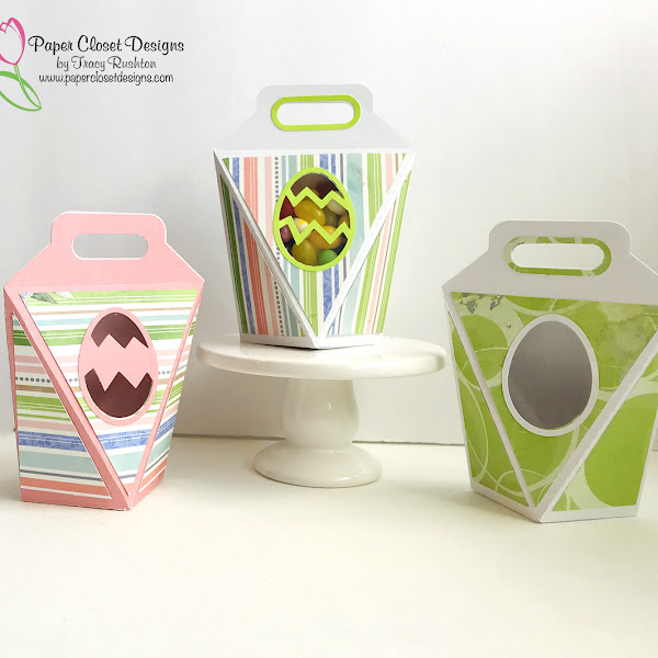 6 Sided Pop Up Easter Boxes and a video tutorial