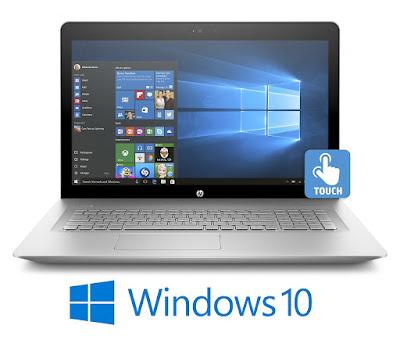 HP Envy 17.3 Full HD (1920 x 1080) Touchscreen Laptop PC (7th Gen i7-7500U,16GB DDR4 RAM,1TB 7200RPM HDD, NVIDIA GeForce 940MX 2GB, Windows 10)-Silver