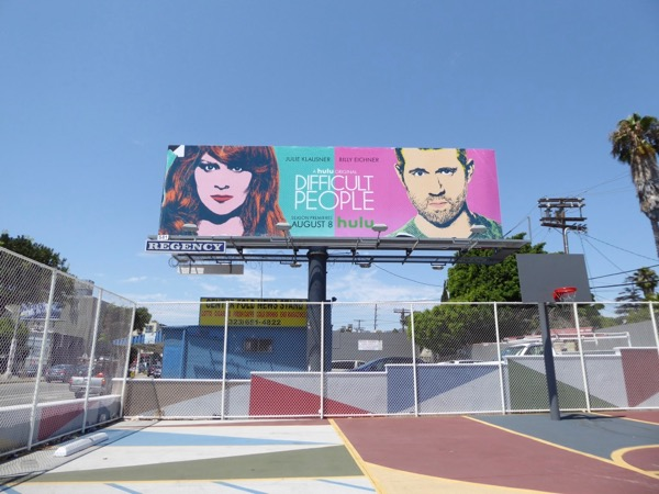 Difficult People season 3 billboard