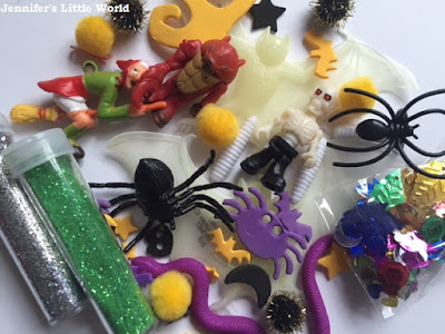 Selection of Halloween small toys