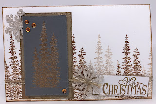 Linda Vich Creates: Christmas Tag Exchange 2016. Card design by Shawna Bartlett.
