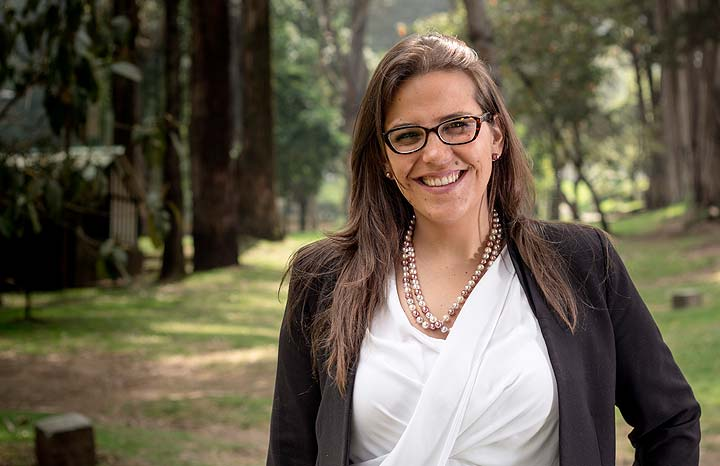 Sandra Pulido, gerente de ferias de la Cámara Colombiana del Libro
