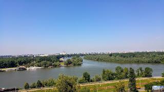 Serbie Belgrade Panorma de la Forteresse