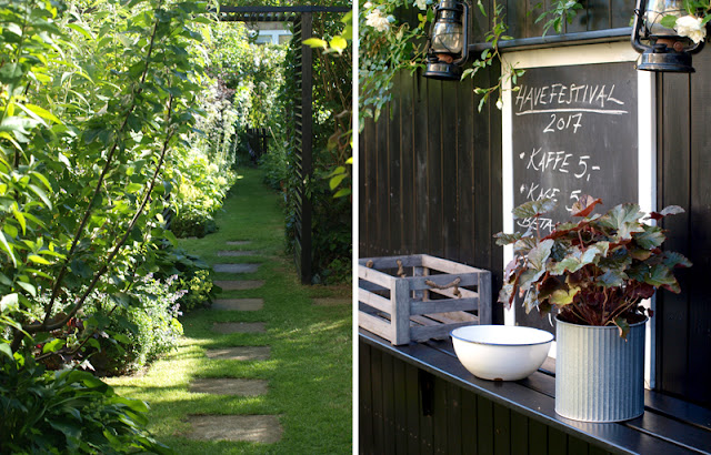 Åben have hos Haveplaner og plantebegejstring