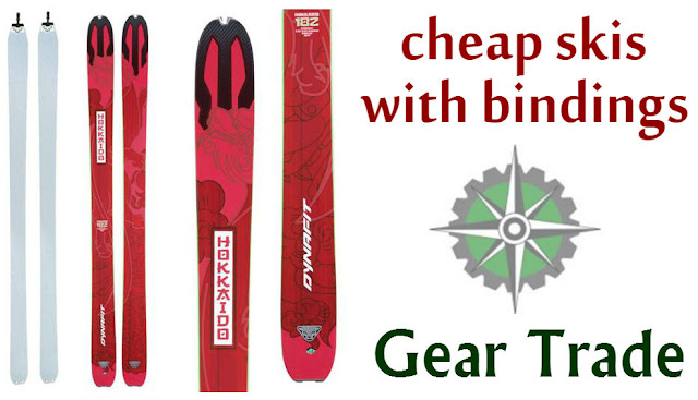 cheap skis with bindings