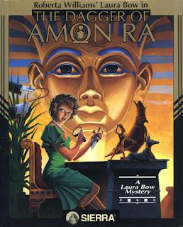 Portada Videojuego Laura Bow 2 The Dagger of Amon Ra