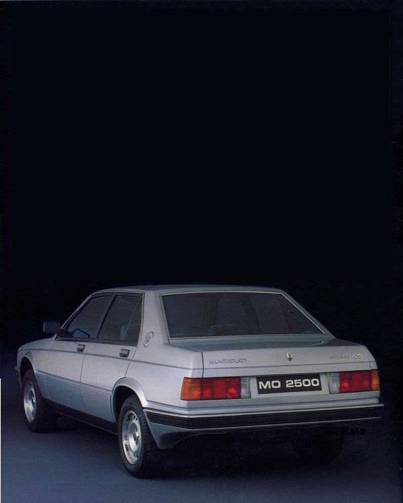 la pasión por el automóvil - passion for cars: maserati biturbo 425