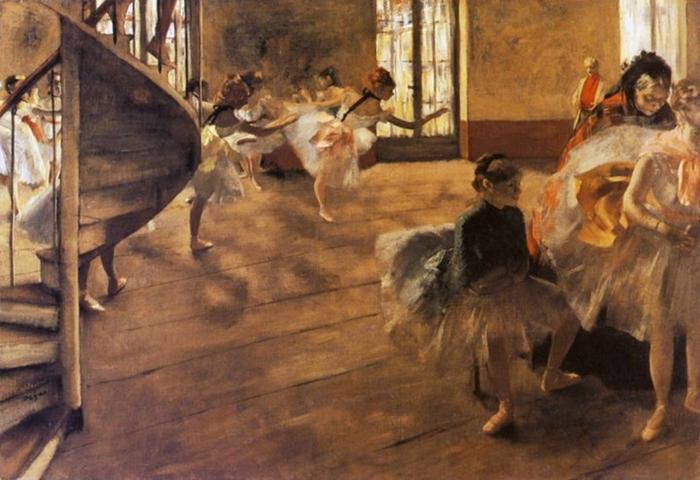 Edgar Degas 1834-1917 | French impressionist | Ballet dancers