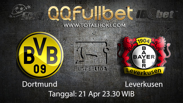 BOLA88 - PREDIKSI TARUHAN BOLA DORTMUND VS LEVERKUSEN 21 APRIL 2018 ( GERMAN BUNDESLIGA )