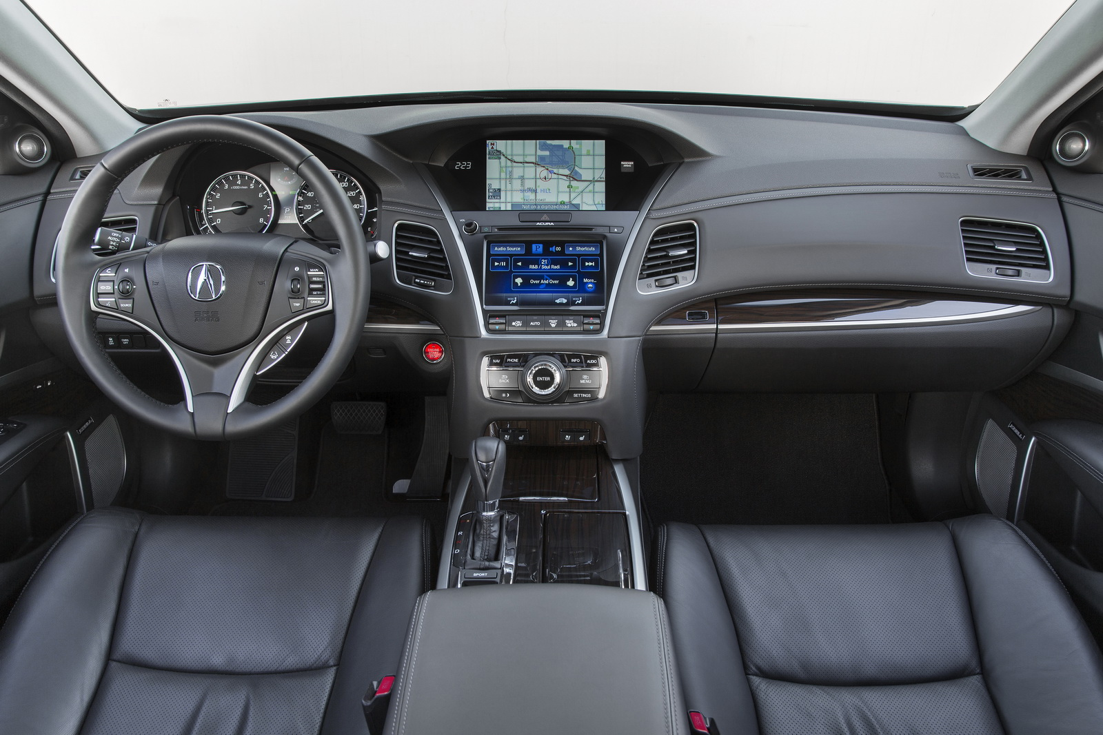2017 Acura Rlx Offers More Features But Base Model Gets