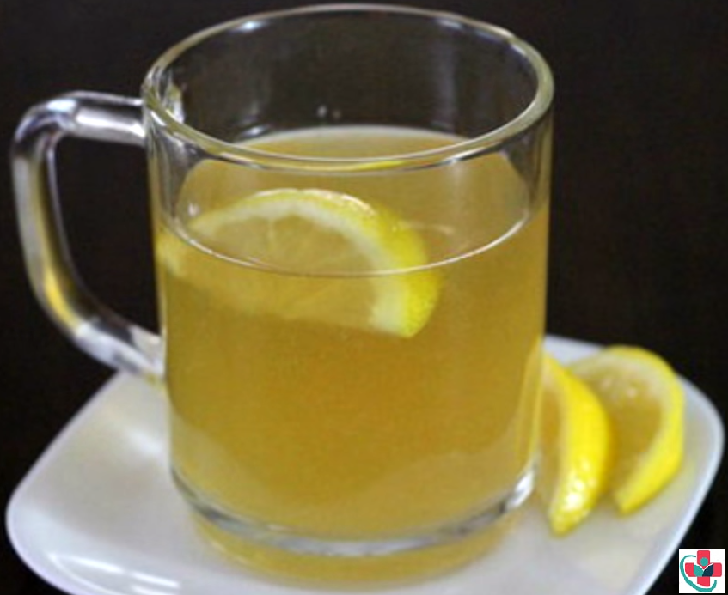 Honey-lemon water
