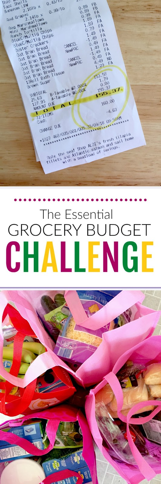 The Essential Grocery Budget Challenge: How I Cut My Bill By $100.  Tips, thoughts and ideas!  I slashed my grocery bill by $100 and I survived.  Easy ways to cut down on excess and get back to the basics. (sweetandsavoryfood.com)