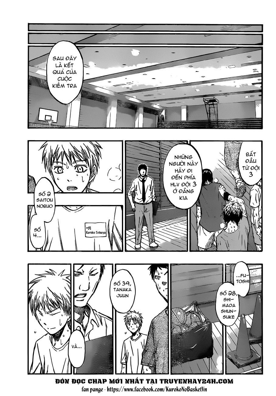 Kuroko No Basket chap 204 trang 16