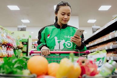 Belanja Happy Dengan Go-Mart, Barang Diantar Driver Gojek