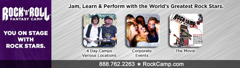 Best Music Gift For Musician | Rock N Roll Fantasy Camp | Music Events | Adult Camps