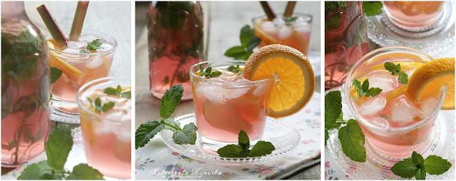 poncz, lemoniada, napój chłodzący, daylicooking, Małgorzata Kijowska
