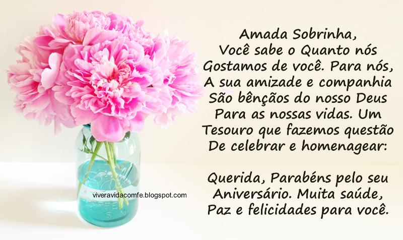 Mesa De Feliz Aniversario Bolo Para Sobrinha Imagens: Mensagem De Aniversário Para Sobrinho